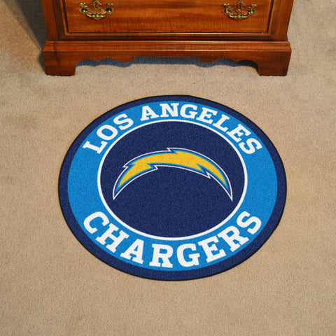 "NFL - Los Angeles Chargers Roundel Mat 27"" diameter"