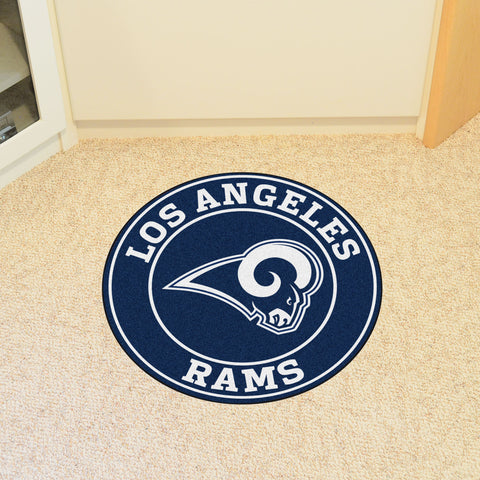 "NFL - Los Angeles Rams Roundel Mat 27"" diameter"