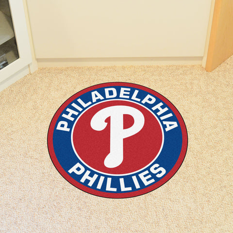 "MLB - Philadelphia Phillies Roundel Mat 27"" diameter"