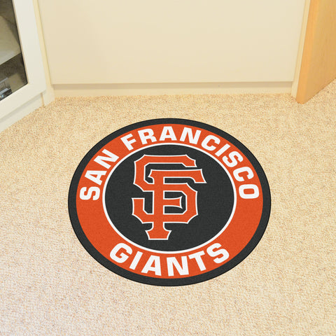 "MLB - San Francisco Giants Roundel Mat 27"" diameter"