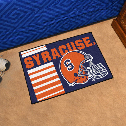 "Syracuse Uniform Starter Rug 19""x30"""