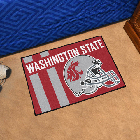 "Washington State Uniform Starter Rug 19""x30"""