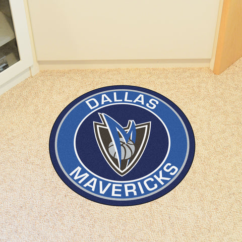 "NBA - Dallas Mavericks Roundel Mat 27"" diameter"