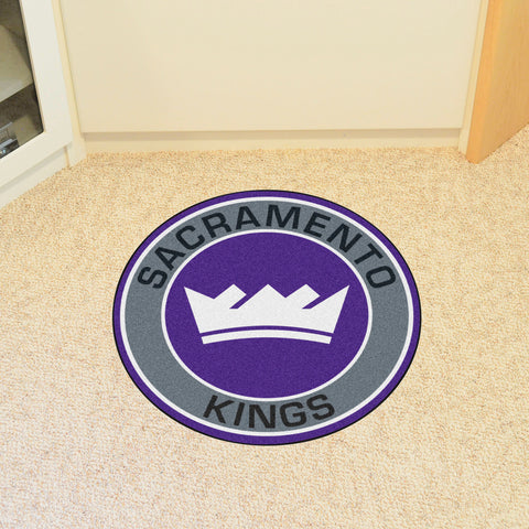 "NBA - Sacramento Kings Roundel Mat 27"" diameter"