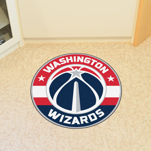 "NBA - Washington Wizards Roundel Mat 27"" diameter"