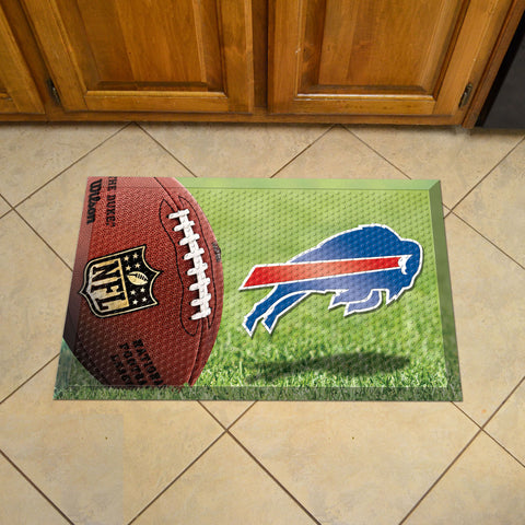 "NFL   Buffalo Bills Scraper Mat 19""x30"""