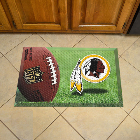 "NFL   Washington Redskins Scraper Mat 19""x30"""