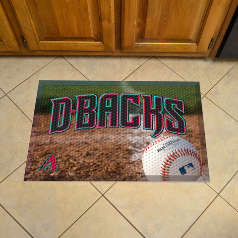 "MLB   Arizona Diamondbacks Scraper Mat 19""x30"""
