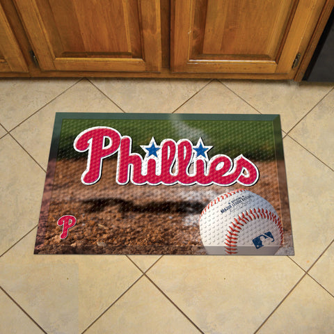 "MLB   Philadelphia Phillies Scraper Mat 19""x30"""
