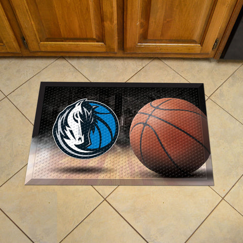 "NBA - Dallas Mavericks Scraper Mat 19""x30"" - Ball"