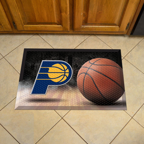 "NBA - Indiana Pacers Scraper Mat 19""x30"" - Ball"