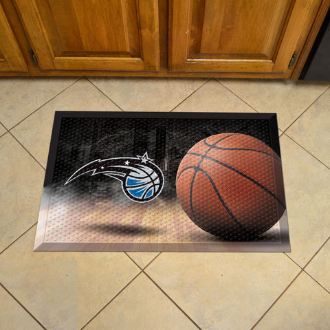 "NBA - Orlando Magic Scraper Mat 19""x30"" - Ball"