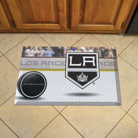 "NHL   Los Angeles Kings Scraper Mat 19""x30"""