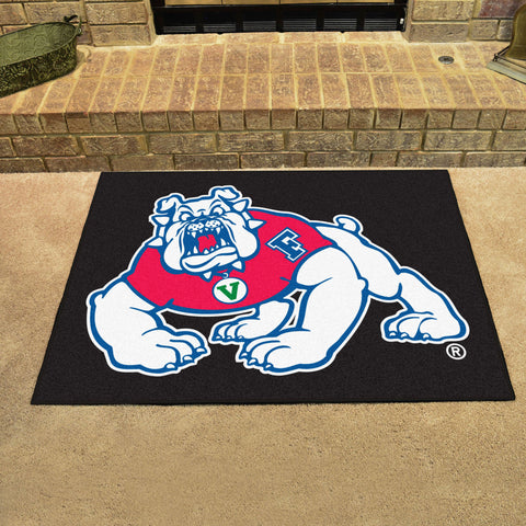 "Fresno State All-Star Mat 33.75""x42.5"" - black"