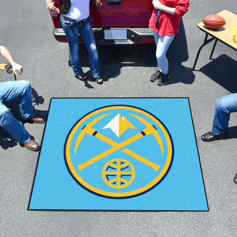NBA - Denver Nuggets Tailgater Rug 5'x6'