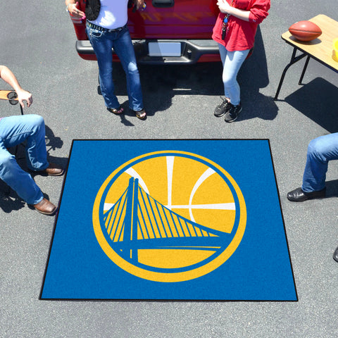 NBA - Golden State Warriors Tailgater Rug 5'x6'