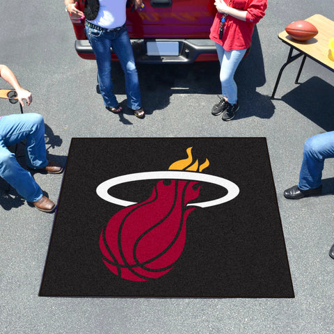 NBA - Miami Heat Tailgater Rug 5'x6'