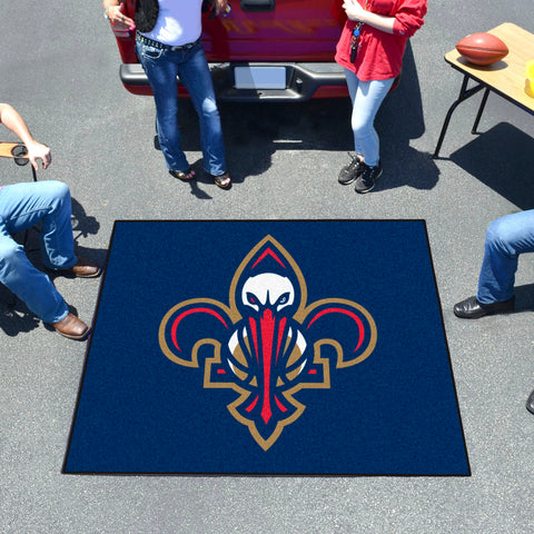 NBA - New Orleans Pelicans Tailgater Rug 5'x6'