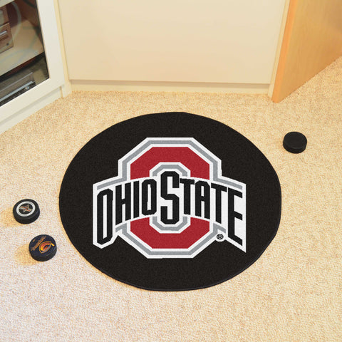 "Ohio State Puck Mat 27"" diameter"