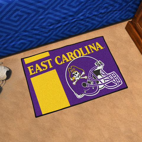 "East Carolina Uniform Starter Rug 19""x30"""