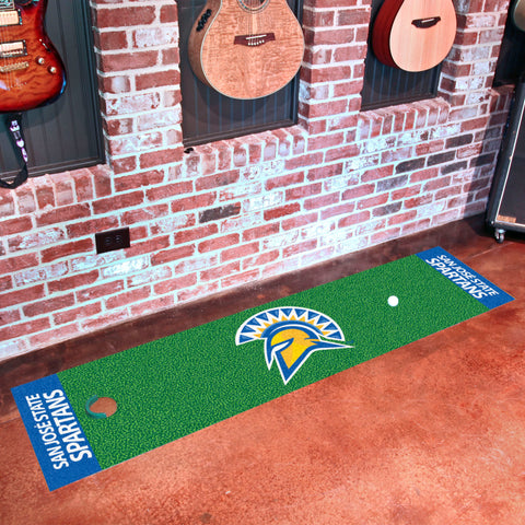 "San Jose State Putting Green Runner 18""x72"""