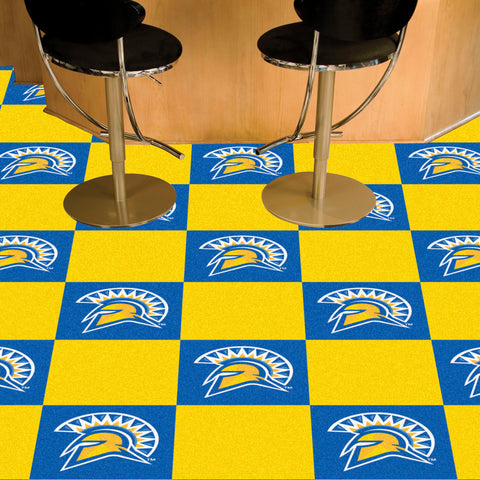 "San Jose State 18""x18"" Carpet Tiles"