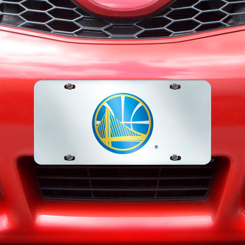 "NBA - Golden State Warriors License Plate Inlaid 6""x12"""