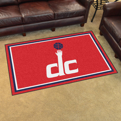 NBA - Washington Wizards 4'x6' Rug
