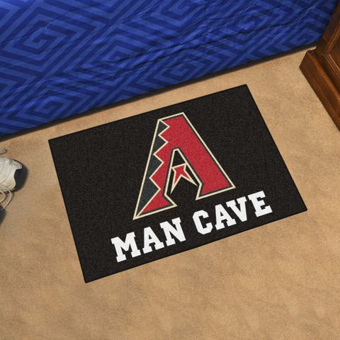 "MLB - Arizona Diamondbacks Man Cave Starter Rug 19""x30"""