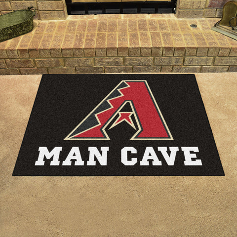 "MLB - Arizona Diamondbacks Man Cave All-Star Mat 33.75""x42.5"""