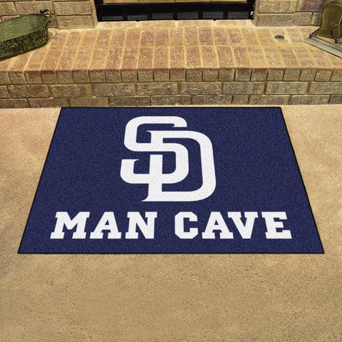 "MLB - San Diego Padres Man Cave All-Star Mat 33.75""x42.5"""