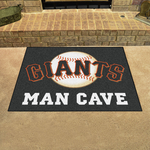 "MLB - San Francisco Giants Man Cave All-Star Mat 33.75""x42.5"""