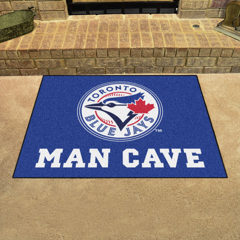 "MLB - Toronto Blue Jays Man Cave All-Star Mat 33.75""x42.5"""