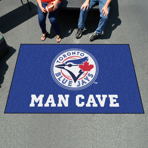 MLB - Toronto Blue Jays Man Cave UltiMat 5'x8' Rug