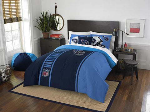 Tennessee Titans NFL Full Comforter and 2 Shams