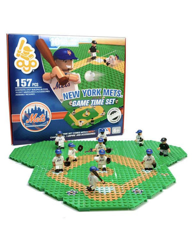 New York Mets Baseball Gametime Set 1.5 OYO Playset