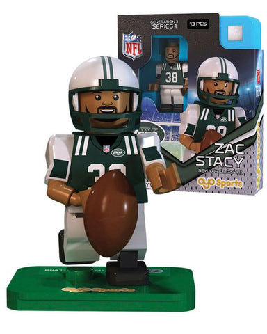 New York Jets ZAC STACY Limited Edition OYO Minifigure