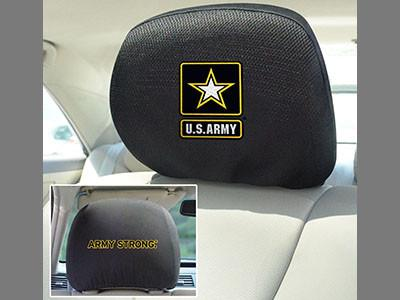 Army Black Knights Head Rest Covers