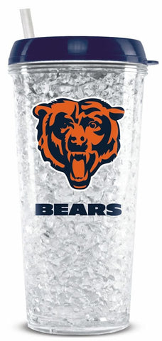 Chicago Bears Crystal Freezer Tumbler