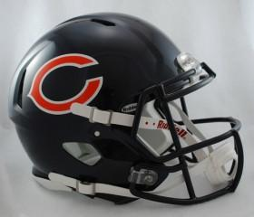 Chicago Bears Revolution Speed Authentic Helmet