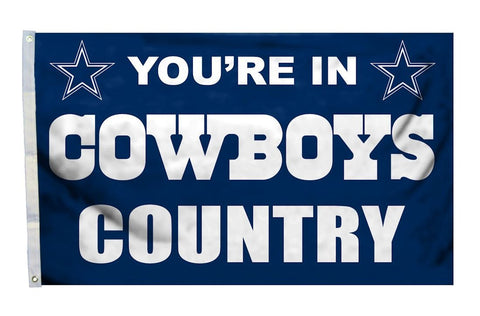 Dallas Cowboys 3'x5' Country Design Flag