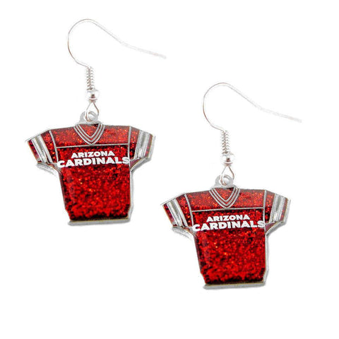 Earrings - Arizona Cardinals Women's Glitter Earrings