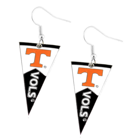 Earrings - Tennessee Volunteers Women's Pennant Dangle Earrings