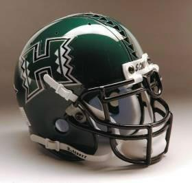 Hawaii Warriors Schutt Authentic Full Size Helmet - SPECIAL ORDER ONLY!