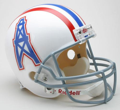 Houston Oilers 1975-80 Throwback Riddell Deluxe Replica Helmet