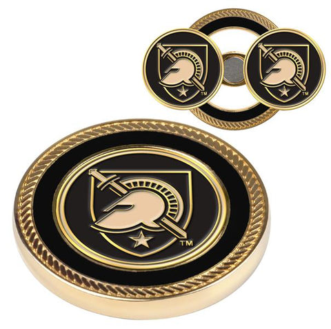 Army Black Knights Challenge Coin / 2 Ball Markers