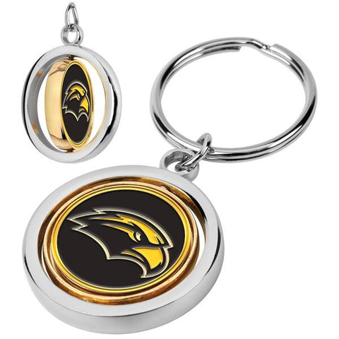 Southern Mississippi Eagles Spinner Key Chain