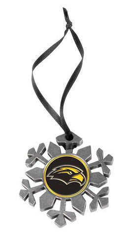 Southern Mississippi Eagles Snow Flake Ornament