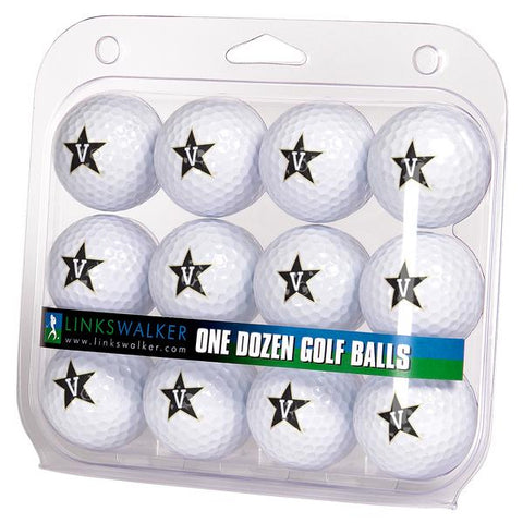Vanderbilt Commodores Dozen Golf Balls