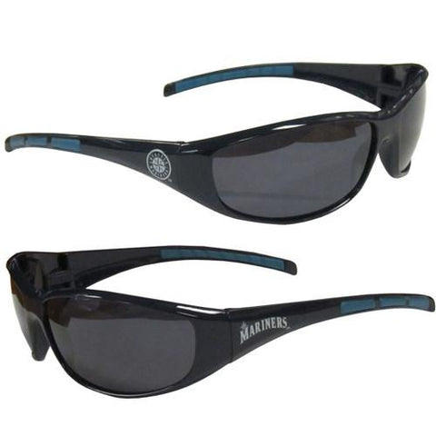 MSunglasses - Seattle Mariners MLB Wrap Sunglasses